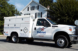Natural gas to propane conversion